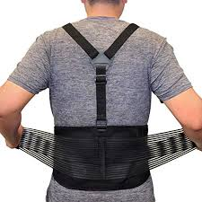 Back Brace For Lifting Lower Back Support For Work Y Shape Suspenders Safety Belt With Dual Medical 3d Lumbar Support Relieve Pain Prevent Injury