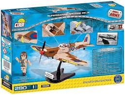 <b>Конструктор Cobi</b> Small Army WW2 <b>Supermarine</b> Spitfire Mk. IX ...