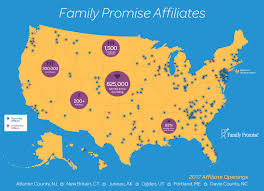 Affiliate Map - Family Promise