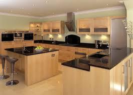 Classic Modern Kitchen Kitchen Room Kitchen Decoration Gas Range Oven Also Brown Wooden