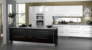 Full Size Of Kitchen Black And White Designs With Wooden Countertops Gray  Tiles Floors Industrial ...