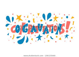 Word For Congratulations Congratulations Word Hand Drawn Text Holiday Stock Vector