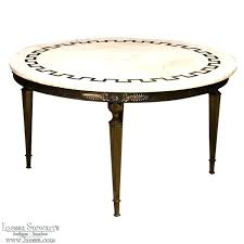 mid century round coffee table glass nz patio furniture
