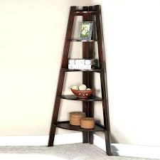 corner shelf ladder corner ladder 5 tier corner shelf corner display shelf sleek walnut corner shelf corner shelf