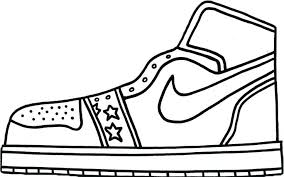 Dance Shoes Coloring Pages At Getdrawingscom Free For Personal