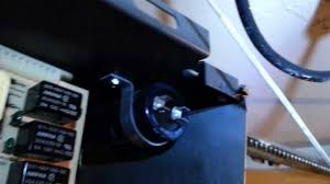garage door capacitorGarage door opener faulty capacitor repair part 2  YouTube