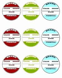 Science Project Labels Printable Science Fair Project Powerpoint Template Heapofbirds