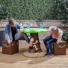 kids pirate outdoor garden patio table