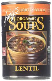 Amy S Light Lean Roasted Polenta With Swiss Chard Amazon Com Amys Organic Soup Light In Sodium Lentil