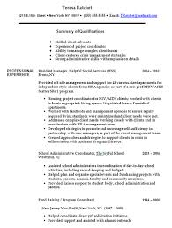 click here to view resume page 1 in new window sample of job description in resume
