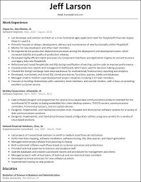 Resume Test Engineer Resume