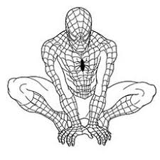 marvel printable coloring pages. Interesting Printable Superhero SpiderMan Coloring Pages And Marvel Printable Y