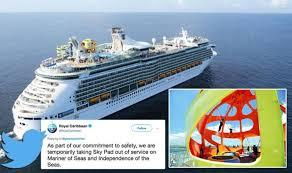 Royal Caribbean Customer Service Cruise Royal Caribbean Closes Ships Sky Pad Ride After 10