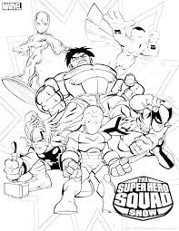 Marvel Superhero Coloring Pages Superhero Coloring Pages For Kids
