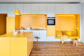 Yellow Kitchen 80 Cool Kitchen Cabinet Paint Color Ideas