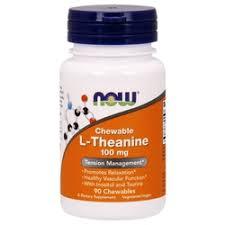 «БАД Now Foods <b>L</b>-Theanin, <b>100</b> mg, 90 Vcaps» — Товары для ...
