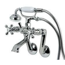 kingston brass victorian handle tub wall claw foot faucet with choosing the right your bathtub chrome