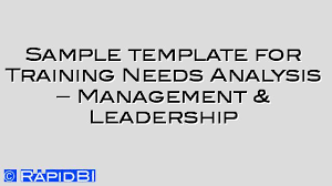 Sample Needs Analysis Mesmerizing Tagged As Training Needs Analysis Archives RapidBI
