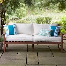 birch lane rossi patio sofa with cushions reviews website logo birch lane home