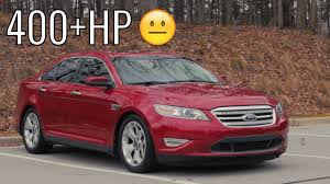 400HP Ford Taurus SHO Car Review! - Acceleration of a Sleeper ...
