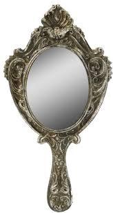 Ornate hand mirror Retro Hand Ornate Hand Mirror Grace And Glory Hand Mirror