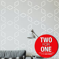 Stencil Art Designs For Walls Anatolian Pattern Modern Reusable Allover Large Wall Stencils