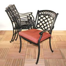 sensational inspiration ideas metal outdoor dining chairs 18 dining room
