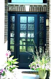 half glass front door half glass front door doors marvellous frosted glass exterior door glass entry