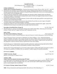 With Summary 4 Resume Examples Resume Resume Examples Resume
