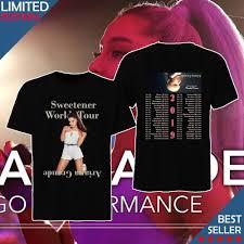 Dc Shoes T Shirt Size Chart Ariana Grande Sweetener Tour 2019 Mens T Shirt Fashion