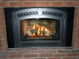 pellet burning fireplace insert iron construction fuel compatible wash system cleaner glass stove