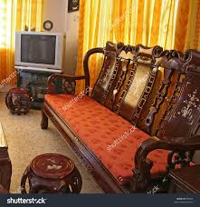Rosewood Bedroom Furniture Living Room Furnished With Antique Chinese Rosewood Furniture