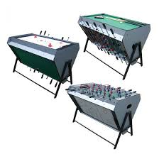 Soccer Table MDF Air Hockey 3 In 1 Multi Game Pool | WIN.MAX