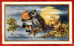 Image result for vintage halloween clip art