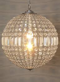 round ball chandelier light designs