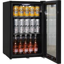 black schmick bar fridge low e glass door and lock delivery inside glass door mini fridge