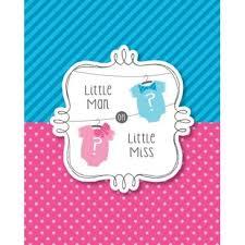 Invitation Baby Shower Fille Ou Garçon