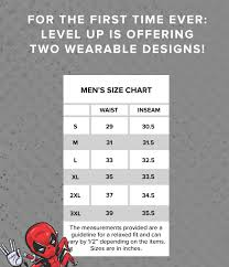 Loot Wear Size Chart February 2016 Lvl Up Spoilers Level Up From Loot Crate