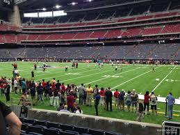 Texans Reliant Stadium Seating Chart Nrg Stadium Section 103 Houston Texans Rateyourseats Com