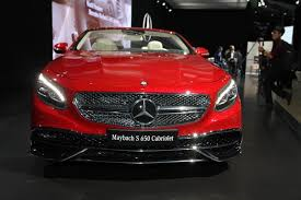 2018 maybach s650 cabriolet. plain 2018 2017 mercedesmaybach s650 cabriolet and more la auto show featured to 2018 maybach s650 cabriolet