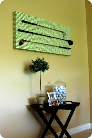 supplies you will need plywood board cut to desired size mine is 22 x 47 1 2 x 1 1 2 moulding strips miter box nails mending brace on golf club wall art with 33 shades of green golf club wall decor