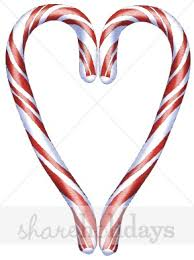 cane clipart. candy cane heart clipart