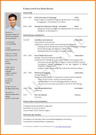 Sample Resume Format Pdf Cv And Resume Format Pdf Sample Resume