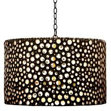 oly studio meri drum chandelier black