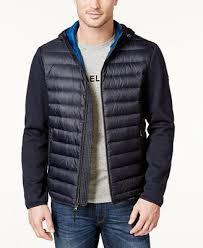 Michael Kors Men's Lightweight Packable Hooded Quilted Jacket ... & Michael Kors Men's Lightweight Packable Hooded Quilted Jacket Adamdwight.com
