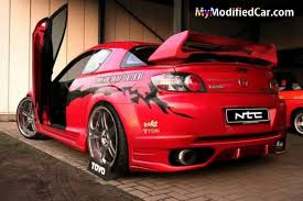 mazda rx8 modified red. modified mazda rx8 rx8 red