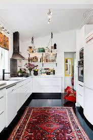 modern kitchen rugs. Vintage-oriental-rug-in-kitchen_large Hannah-Billberg-och-Don-Nayao35051_koket Modern Kitchen Rugs L
