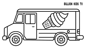 ice cream truck coloring pages. Simple Pages Bargain Ice Cream Truck Coloring Page Pages Colors For Kids With Striking In T