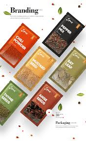 Spices Brochure Design Spices Recipes Website And Branding On Behance