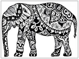 Elephant Coloring Pages Printable Colouring In Picture And Piggie